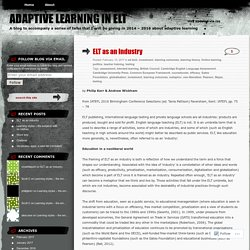 Adaptive Learning in ELT