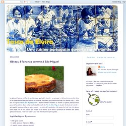 Tasca da Elvira: Gâteau à l'ananas comme à São Miguel