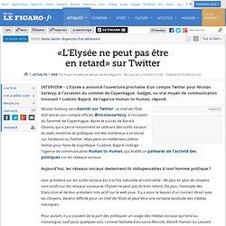 Web : «L'Elysée ne peut pas êtreen retard» sur Twitt