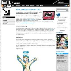 EM: Kunst verwijderd in Faculty Club