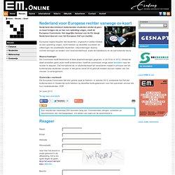 EM: Nederland voor Europese rechter vanwege ov-kaart