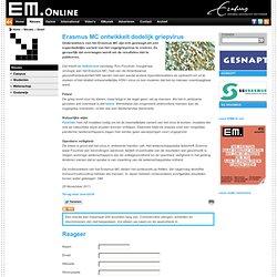 EM: Erasmus MC ontwikkelt dodelijk griepvirus
