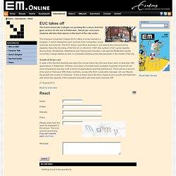 EM.Online: EUC takes off