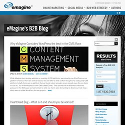 B2B Web Strategy Blog – eMagine