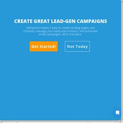 25 Tips: Email Lead Generation from Social Media