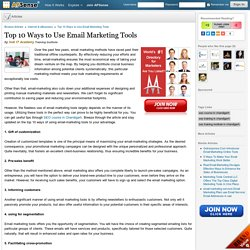 Top 10 Ways to Use Email Marketing Tools by Indi IT Academy