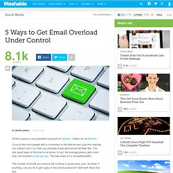 5 Ways to Get Email Overload Under Control