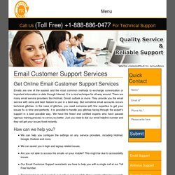 Email Technical Support Service Number