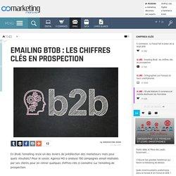 Emailing BtoB : les chiffres clés en prospection