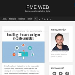 Emailing : 9 cours en ligne incontournables