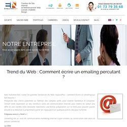Trend du Web : Comment écrire un emailing percutant ? « Evolution Net