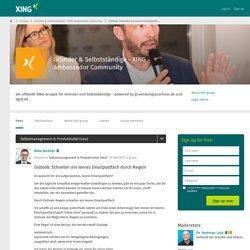 Outlook: Schneller ein leeres Emailpostfach durch Regeln - Gründer & Selbstständige - XING Ambassador Community