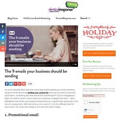 The 9 Emails Your Business Should Be Sending