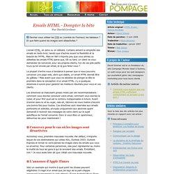 Emails HTML - Dompter la bête