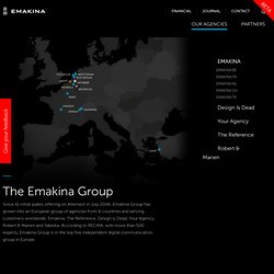 Emakina | The Full Service Digital Native Agency