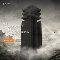 Building Brand Experiences - Emakina - The Full Service Digital Native Agency