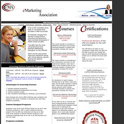 eMarketing Association Education