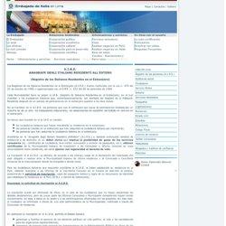 Ambasciata d'Italia a Lima_ A.I.R.E.