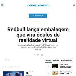 Redbull lança embalagem que vira óculos de realidade virtual – Meio & Mensagem
