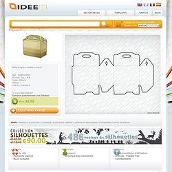 Ideem - modèle vecteur gratuit, modèle emballage, vêtements, accessoires, photoshop brosses e texture