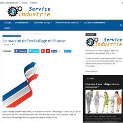 Marché de l'emballage en France : définition et chiffres