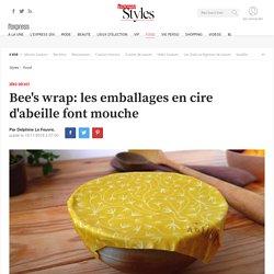 Bee's wrap: les emballages en cire d'abeille font mouche - L'Express Styles