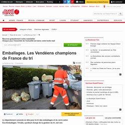 Emballages. Les Vendéens champions de France du tri