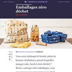 Emballages zéro déchet