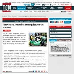 Test Conso : 10 caméras embarquées pour les vacances - Moto Magazine
