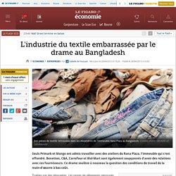 L'industrie du textile embarrassée par le drame au Bangladesh