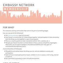 The Embassy Network - Reinventing Home