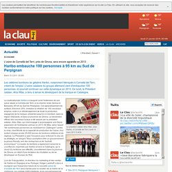 Haribo embauche 100 personnes à 95 km au Sud de Perpignan