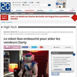Le robot Nao embauché pour aider les vendeurs Darty