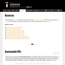Embeddable graphics for your website — The Domino Project