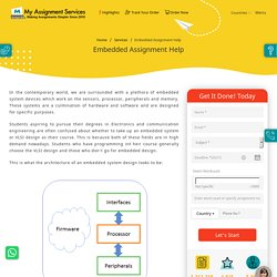 Embedded Systems Assignment Services