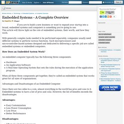 Embedded Systems - A Complete Overview by Angelica M.