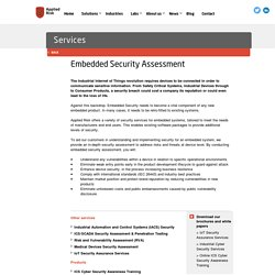 Embedded Security Assessment