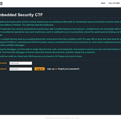 Embedded Security CTF