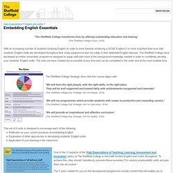 Embedding English Essentials - Online Courses