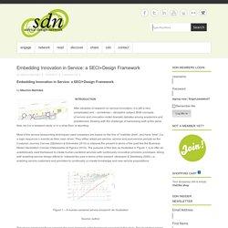 Embedding Innovation in Service: a SECI+Design Framework
