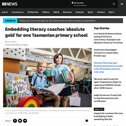 Embedding literacy coaches 'absolute gold' for one Tasmanian primary school - ABC News