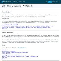 Embedding LiveJournal - All Methods