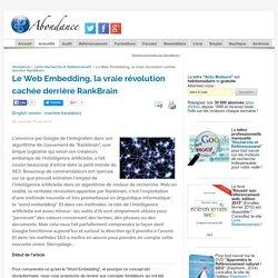 Le Web Embedding, la vraie révolution cachée derrière RankBrain