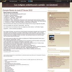 Compte Rendu du lundi 27 février 2012 - Le blog de rev-solutions