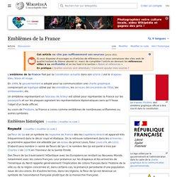 Emblèmes de la France