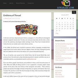 Emblems of Thread