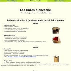 Flûtes à Encoches