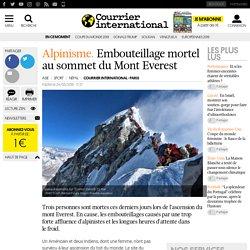 Embouteillage mortel au sommet du Mont Everest