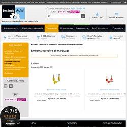 Embouts électriques câblage, repère marquage - Technic Achat