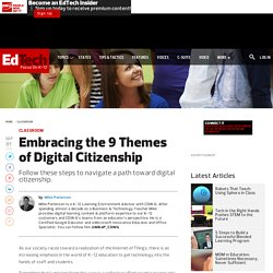 Embracing the 9 Themes of Digital Citizenship